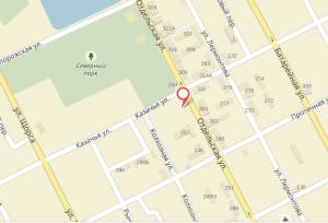 карта офиса